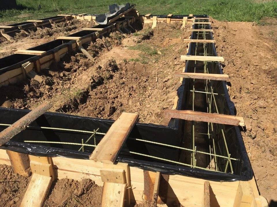Деревянная опалубка для фундамента своими руками: схемы, допуски, видео