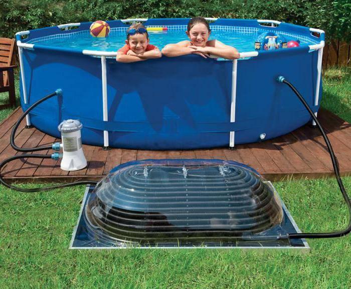 Нагреватель для бассейна intex: выбираем проточный или солнечный водонагреватель. какой подогрев воды лучше?
