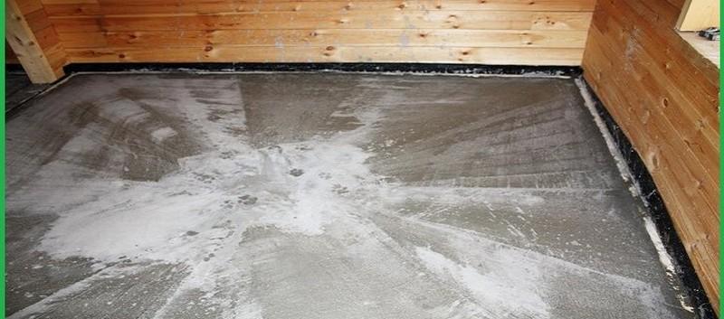 Устройство бетонного пола в бане: утепление, чем покрыть, гидроизоляция своими руками, заливка бетоном, чем обработать бетонную стяжку, фото и видео