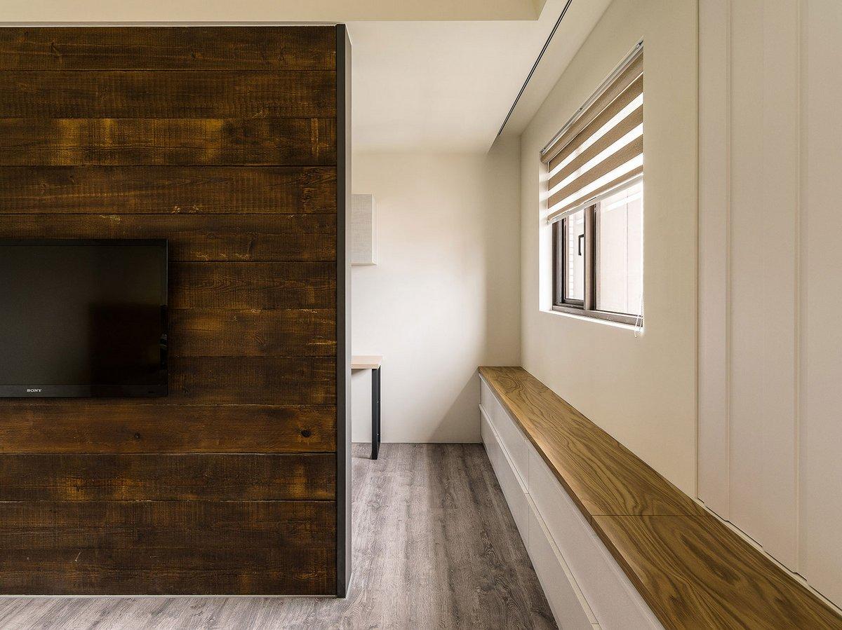 Ламинат на стене в интерьере фото (53 фото): сочетание цветов в гостиной и прихожей квартиры, на стене и потолке, как сочетается с камнем