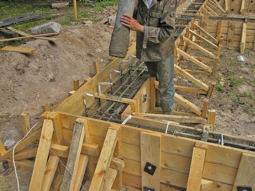 Можно ли заливать фундамент частями - заливка фундамента частями | стройсоветы