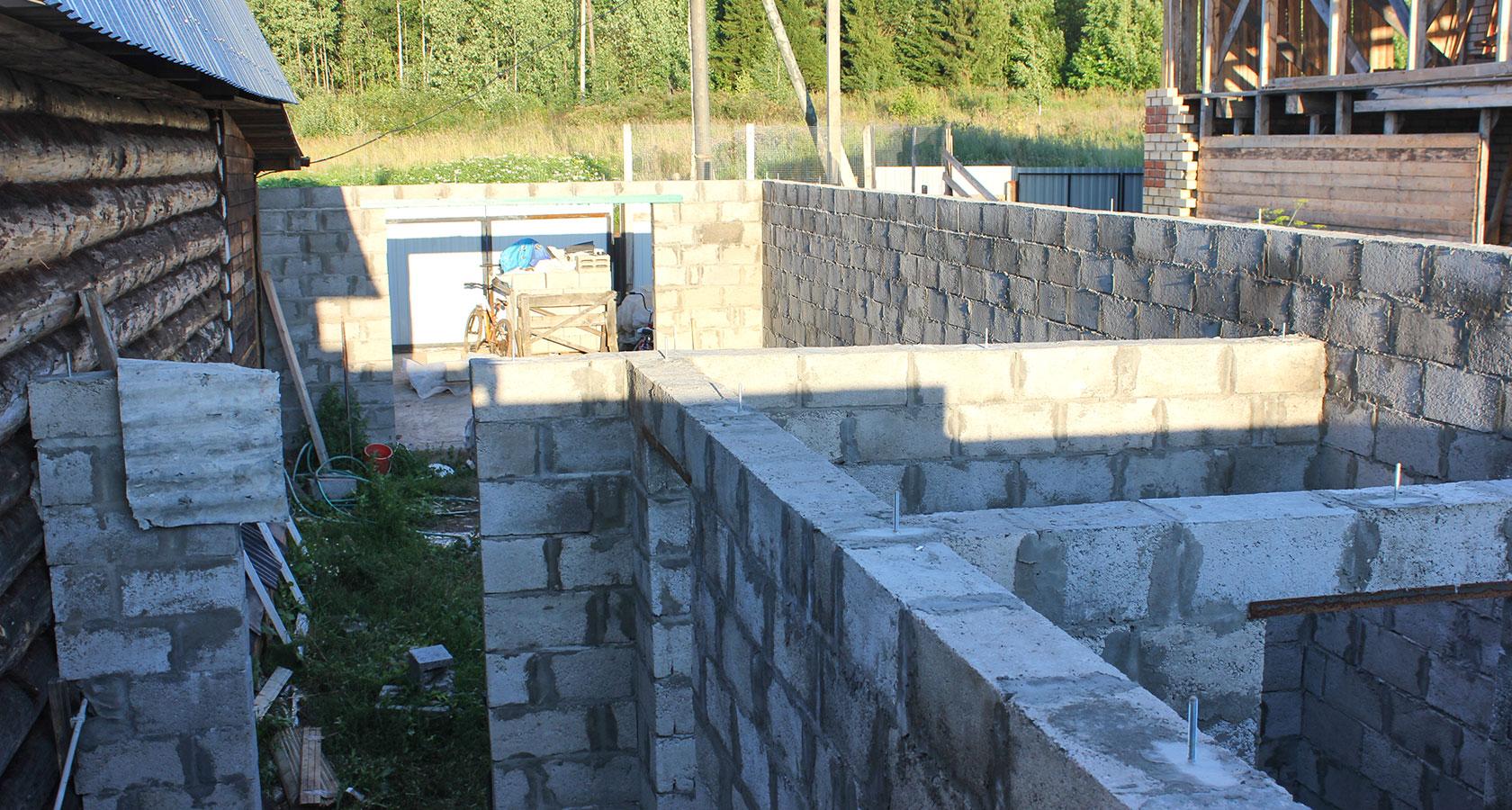 Баня из керамзитобетонных блоков: строительство своими руками, утепление изнутри и снаружи, толщина стены бани из керамзитных блоков