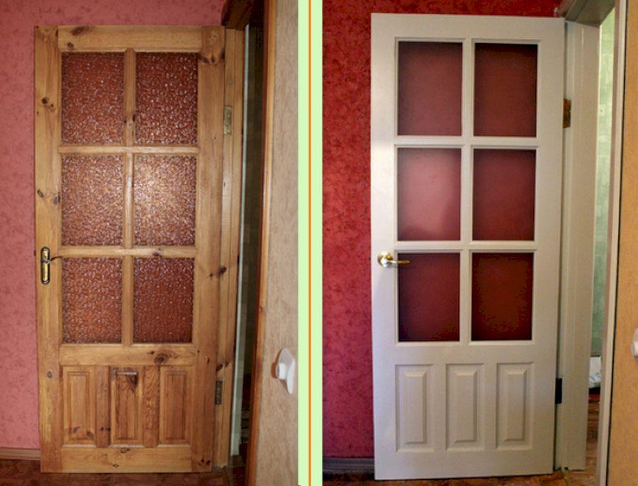 Выбираем лучшую краску для межкомнатных дверей