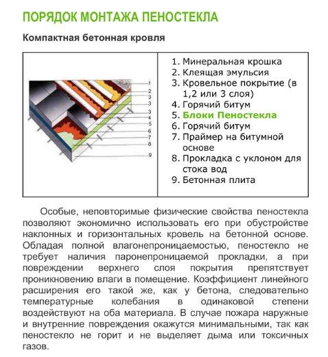 Пеностекло: характеристика и формы выпуска утеплителя для дома