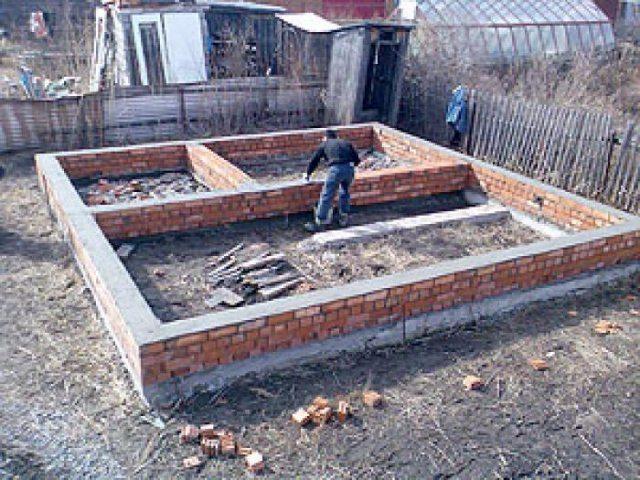 Секреты строительства бани из шлакоблока