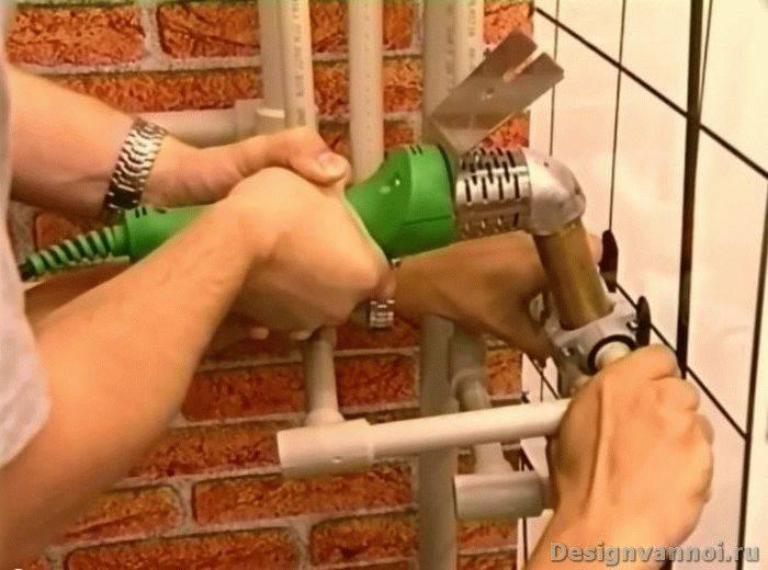 Пайка полипропиленовых труб своими руками: правила, советы, ошибки
