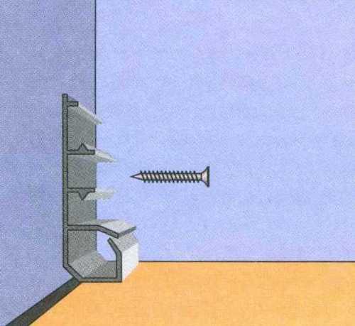 Как крепить кабель-канал