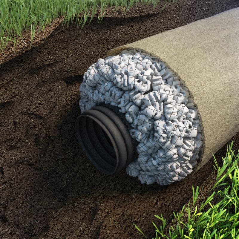 Дренажные трубы для отвода грунтовых вод — классификация изделий