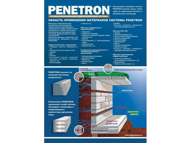 Инструкция по применению пенетрона и его характеристики