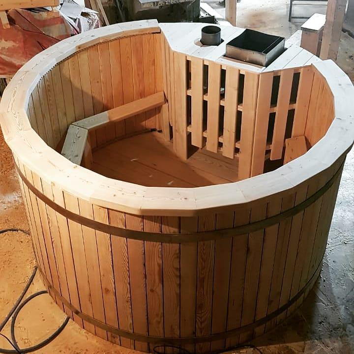 Купель для бани – как правильно выбрать и сделать конструкцию своими руками?