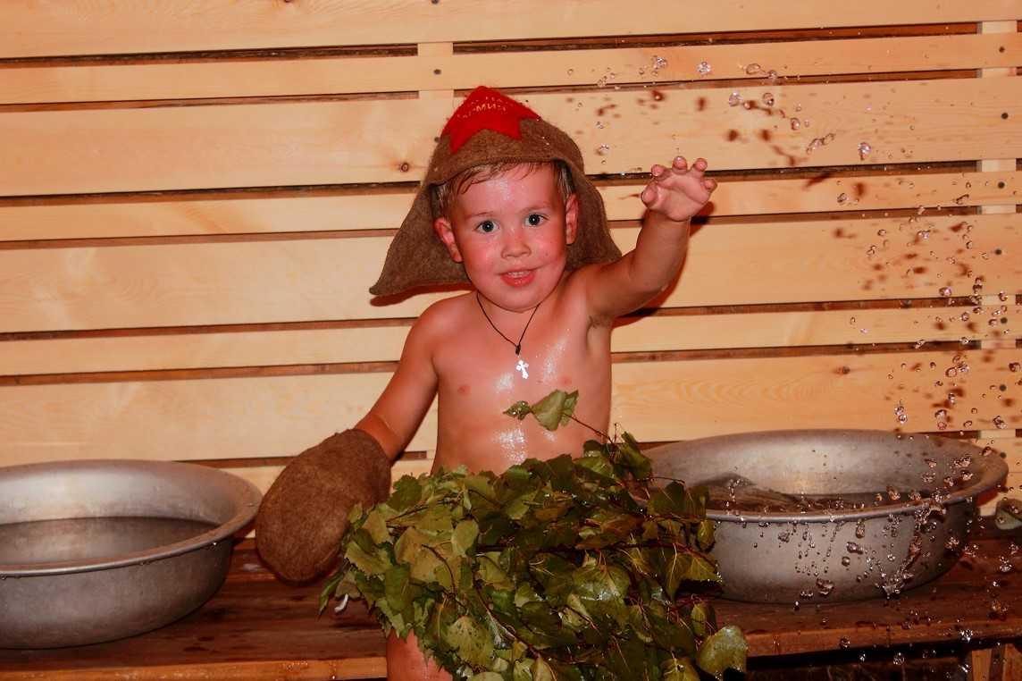 Здравствуй, сауна! сауна для детей
