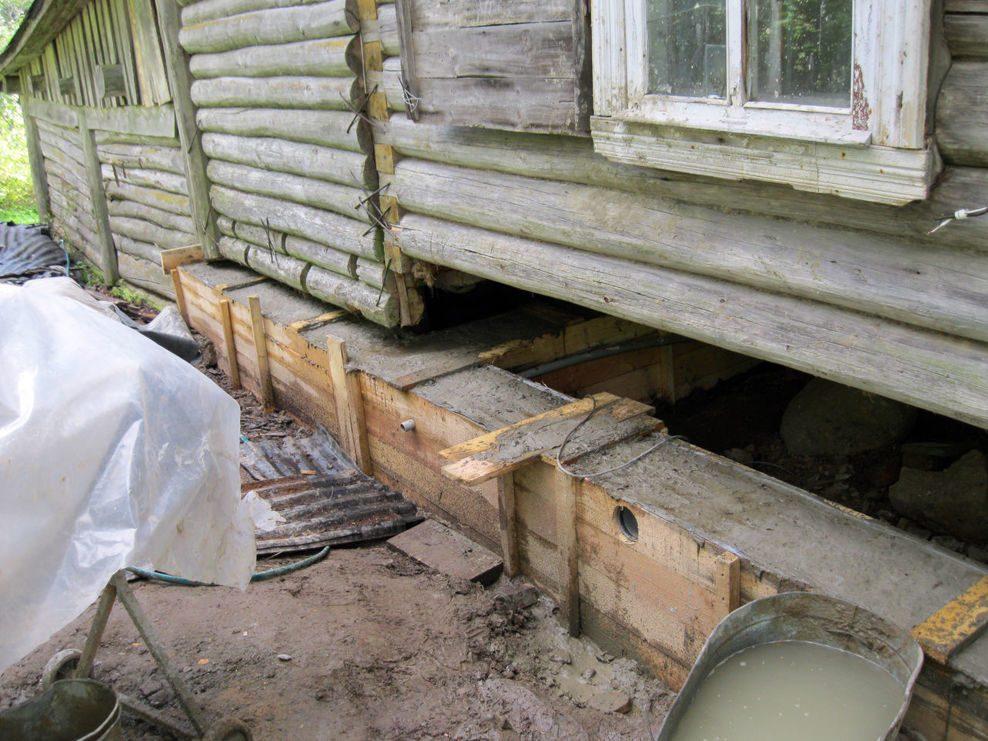 Как залить фундамент под баню?