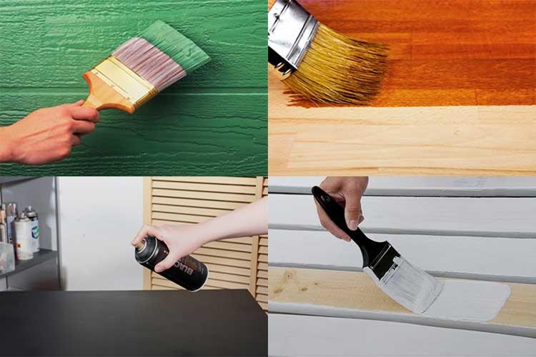 Применение водоэмульсионной краски для деревянных поверхностей