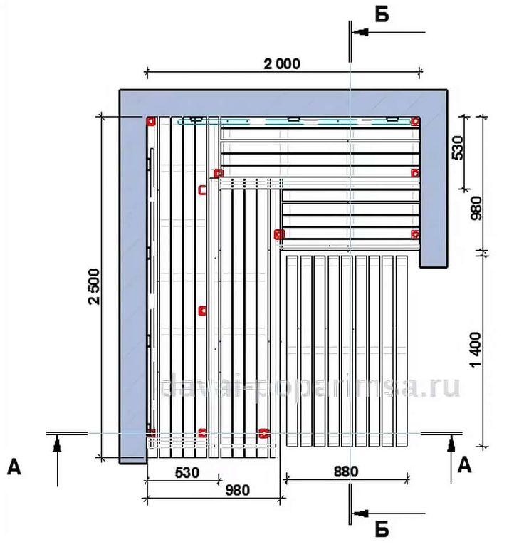 Полок для бани своими руками: рекомендации по выбору конструкции лежаков, подбору материалов, инструкции по сборке и защитной обработке изделия