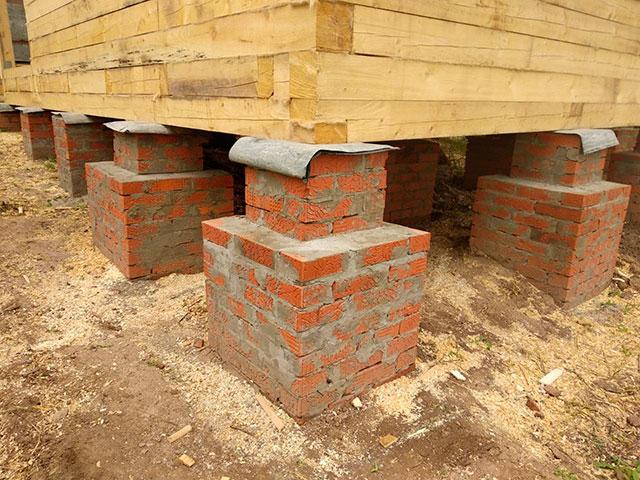 Особенности строительства бани из кирпича