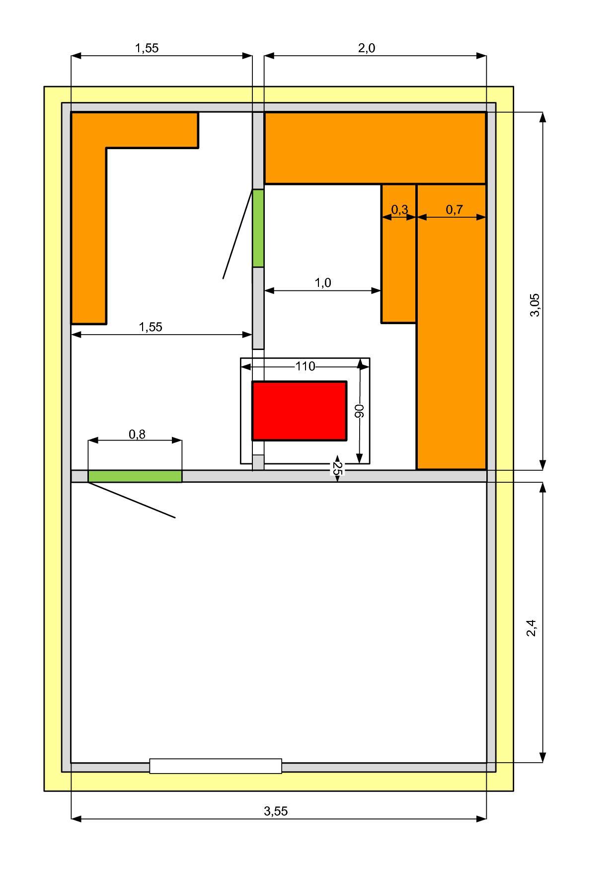 Проект бани размером 6х6: планировка, примеры готовых строений