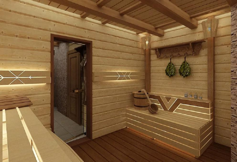Отделка бани внутри — 70 фото уютных решений для отдыха