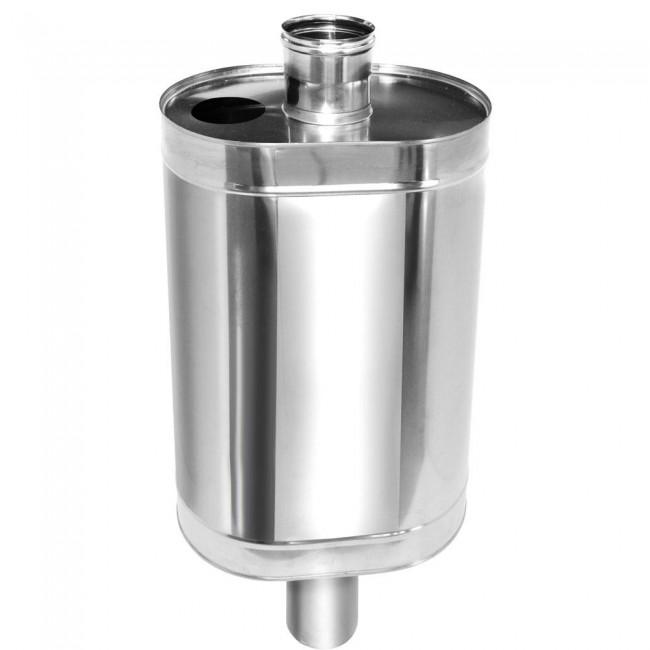 Бак на трубу для бани: виды баков для нагрева воды в банной печи