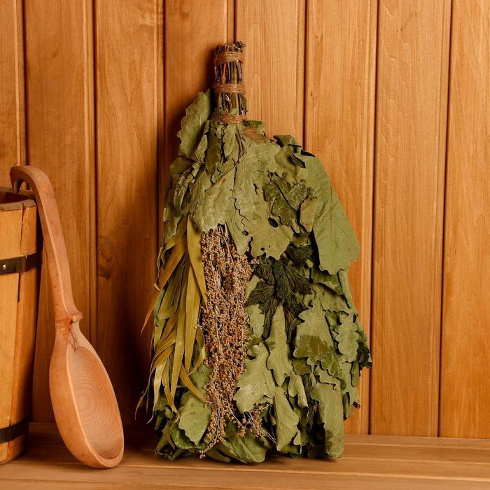 Веник из полыни для бани польза и вред