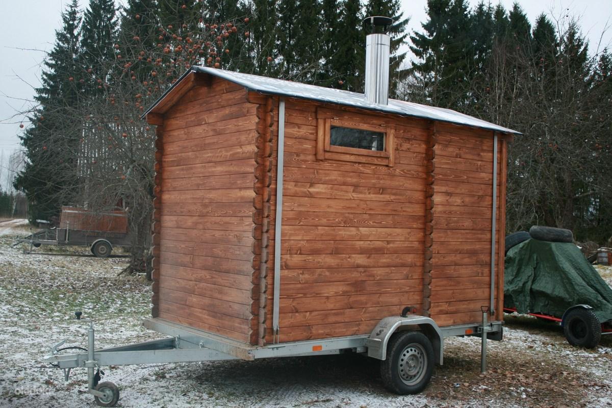 Баня на колесах: нюансы изготовления, использование как бизнес-проект