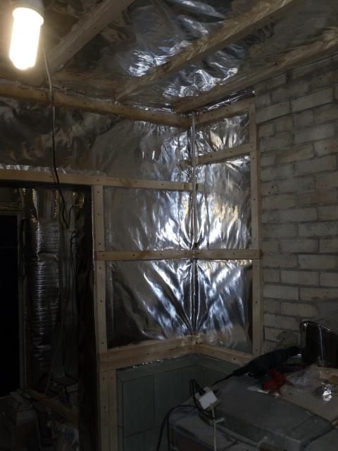 Утепляем и отделываем баню из шлакоблоков изнутри