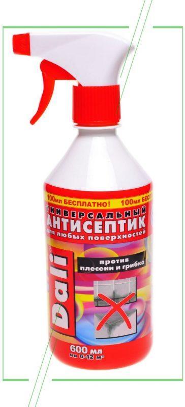 Антигрибковое средство для стен: эффективные составы, способы применения, народные рецепты