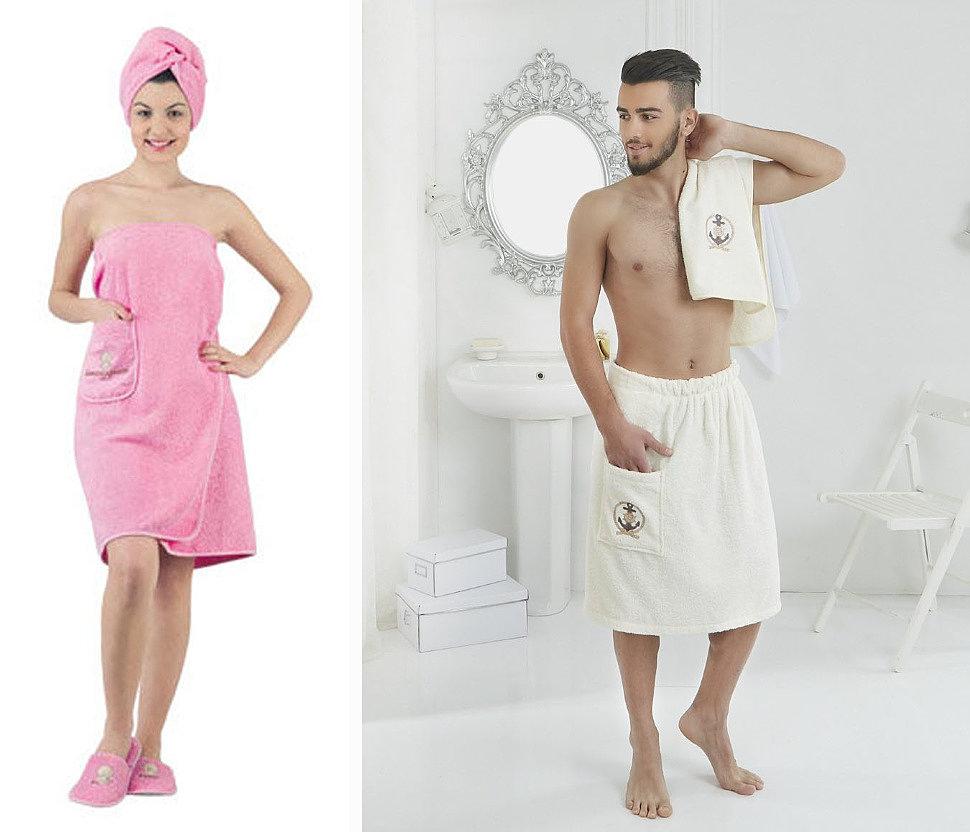 Как сшить для бани полотенце на резинке — moreremonta