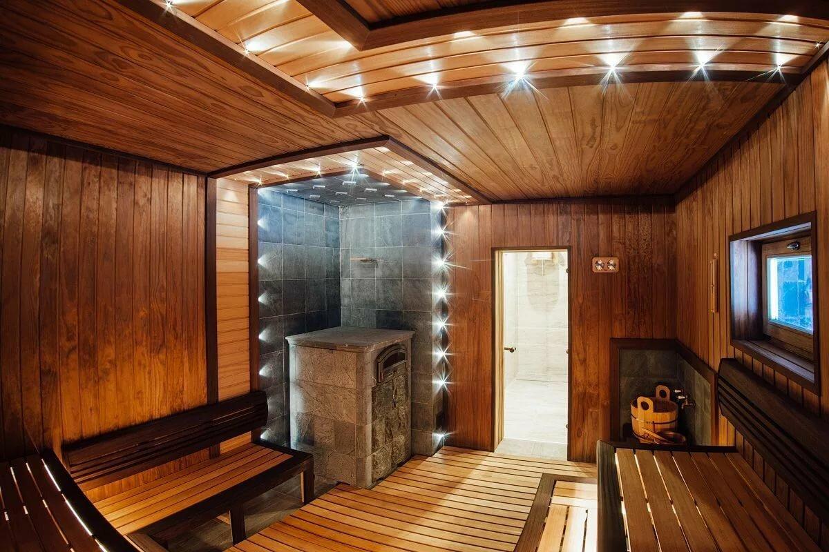 Внутренняя отделка бани своими руками: парилка, моечная