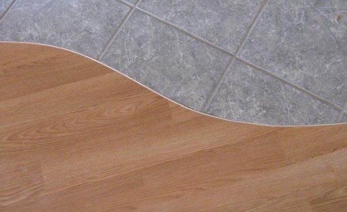 Порожек между плиткой и ламинатом: виды, установка