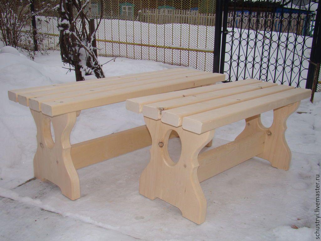 Скамейка для бани своими руками - инструкция по изготовлению (+фото)