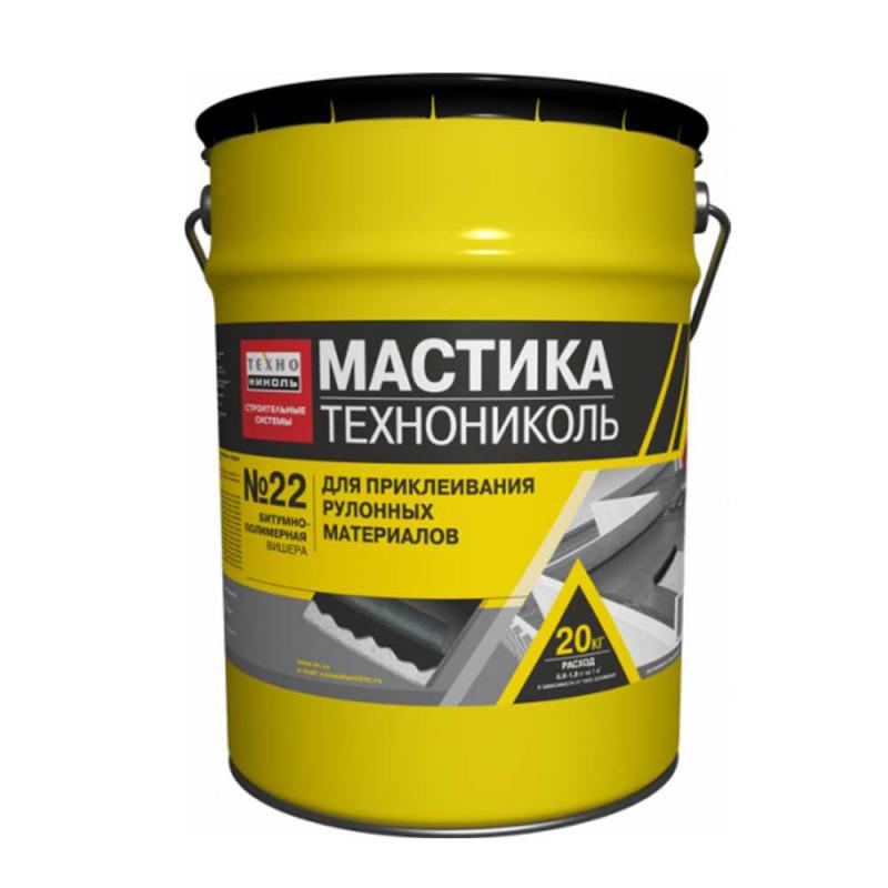 Резино-битумная мастика - функциональный материал для изоляции