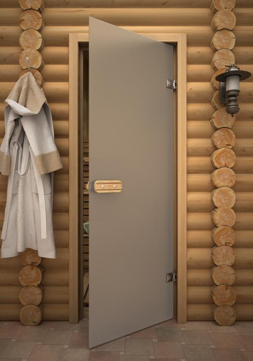 Грамотный выбор дверей для бани