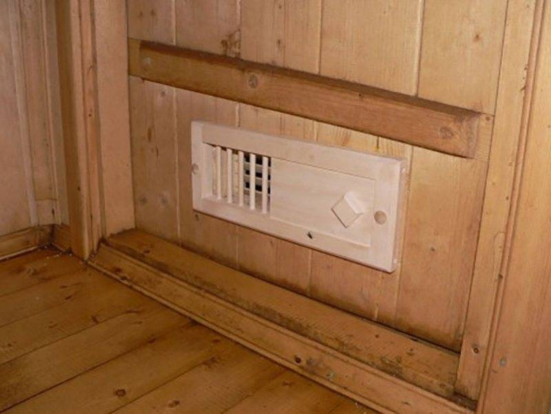 Вентиляция в бане своими руками: устройство вытяжки в парной, варианты схем