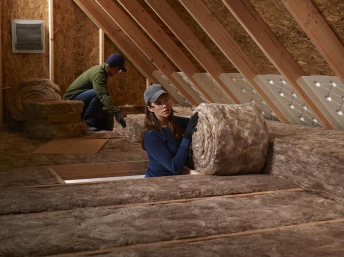 Утепление крыши бани и потолка: чем лучше изолировать, проведение работ своими руками