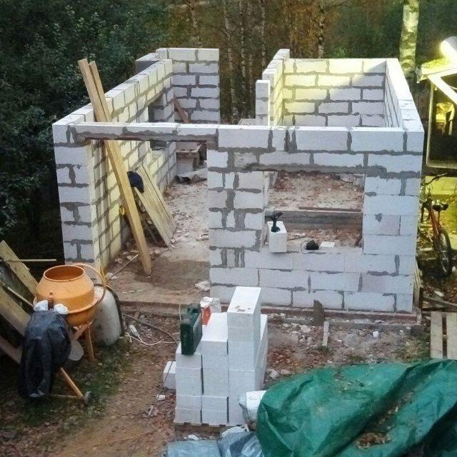 Плюсы и минусы газобетонной бани, проект и мнения владельцев