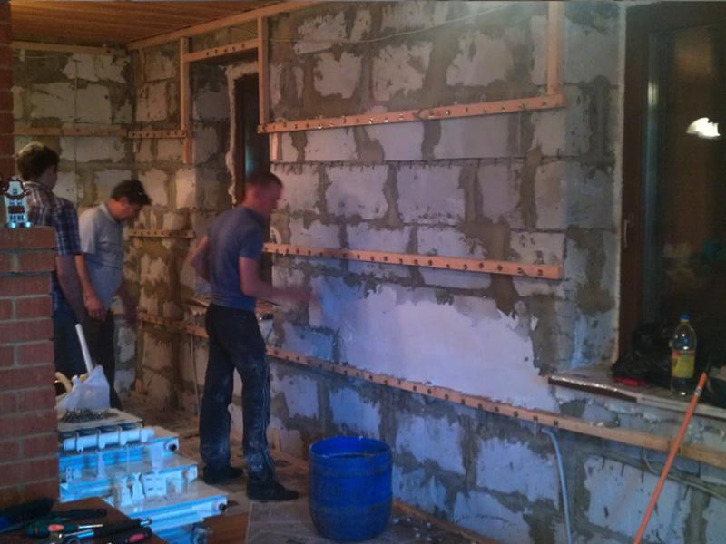 Строительство бани из газобетона: поэтапная инструкция