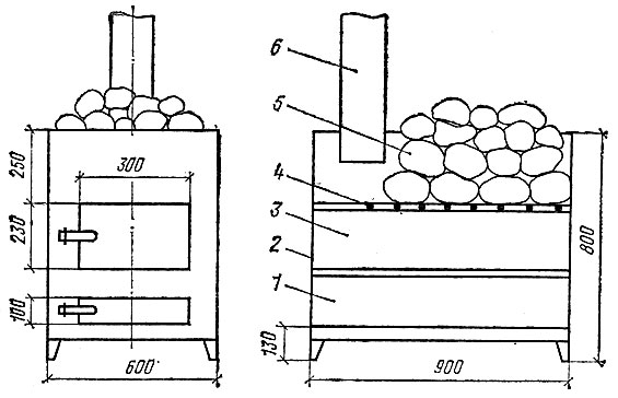 Печь для бани своими руками: из кирпича, из металла — чертежи, порядовки и этапы строительства