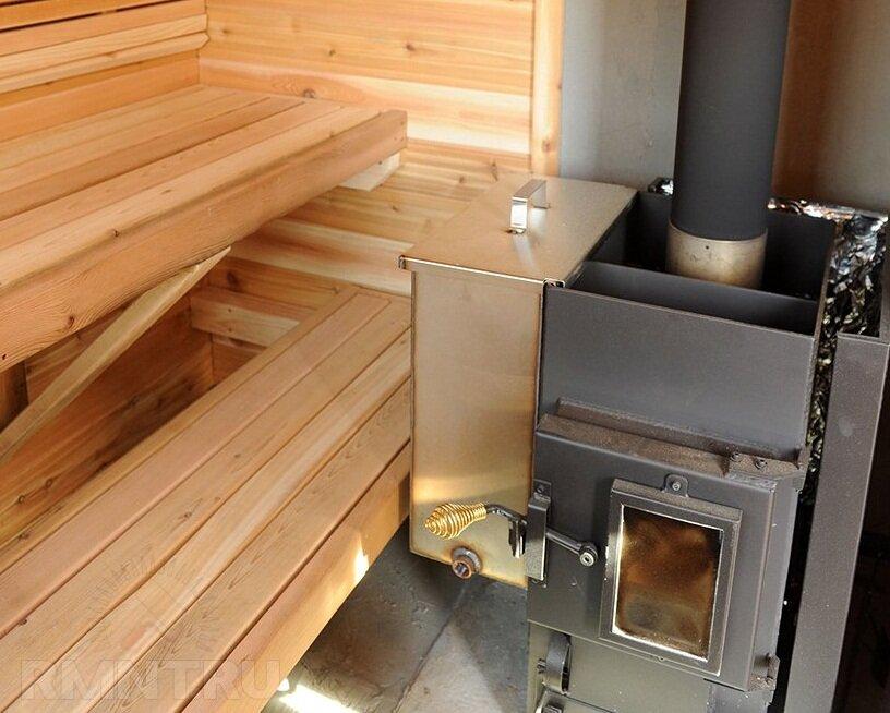 Отопление бани от печи в парной | всё об отоплении