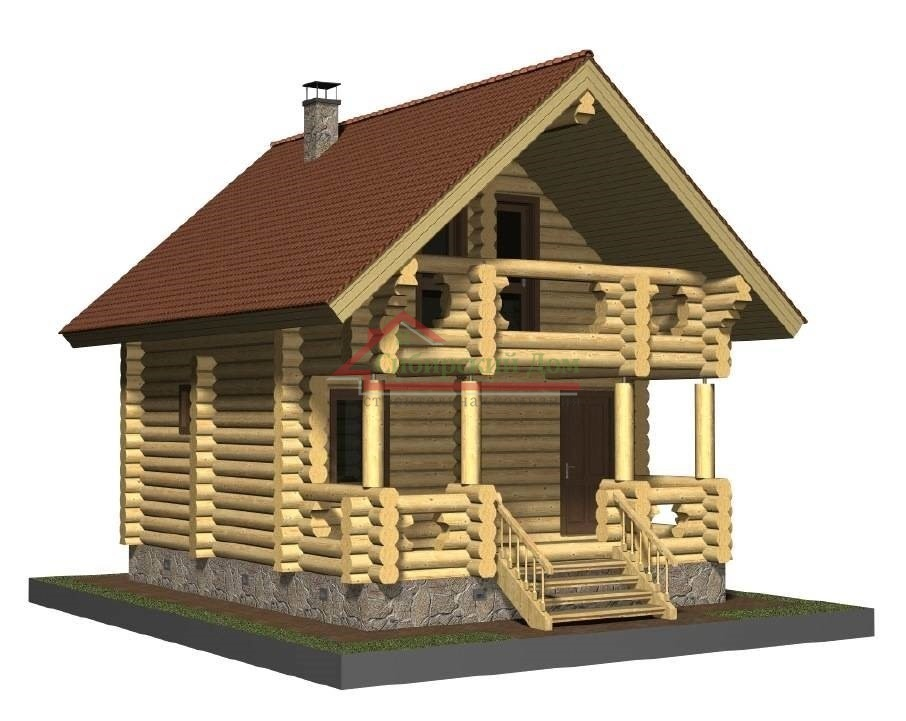 Как построить баню со вторым этажом – что важно учесть
