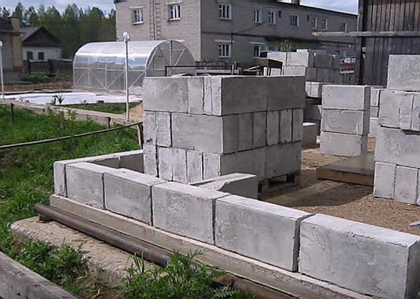 Из каких блоков лучше строить баню   строимдом