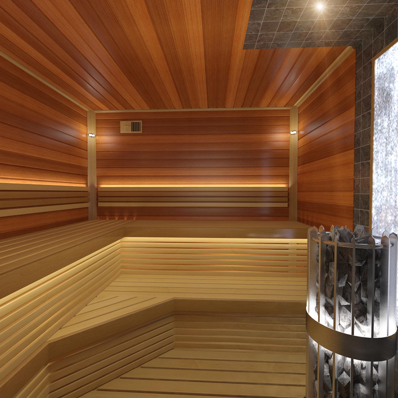 Планировка бани: оригинальные идеи оформления