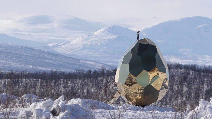 Солнечное яйцо (сауна) - solar egg (sauna)