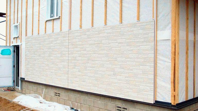 Фиброцементная панель для фасадов - характеристики + инструкция по монтажу