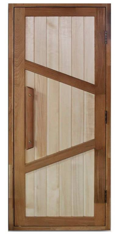 Двери для бани входные: размеры, материалы, какую выбрать, инструкция по установке, фото