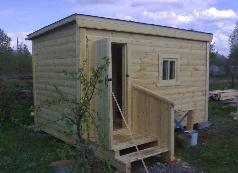 Как построить баню на даче своими руками недорого