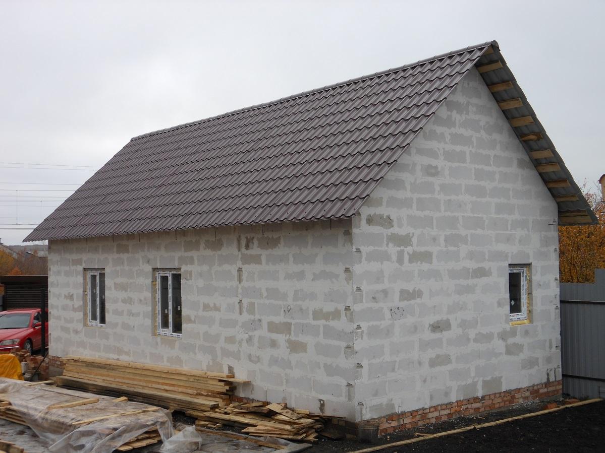 Проекты бань из керамзитобетонных блоков: фото и особенности. этапы строительства бани из блоков