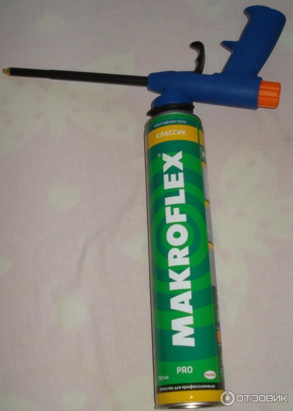 Использование монтажной пены без пистолета, как можно пользоваться трубочкой несколько раз