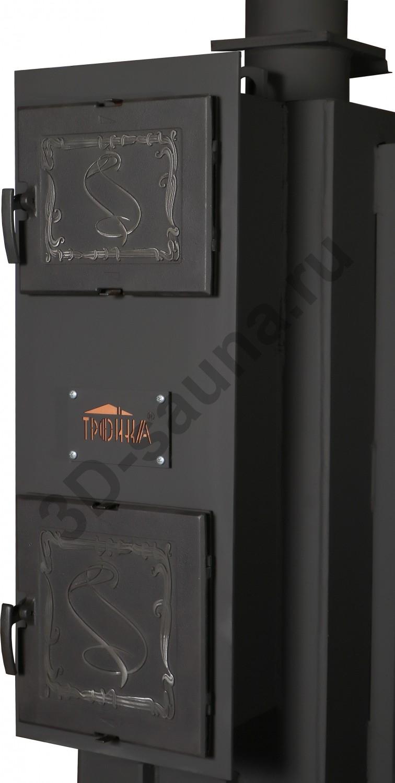 Печь для бани «тройка» – особенности конструкции, популярные модели, тонкости монтажа и облицовки