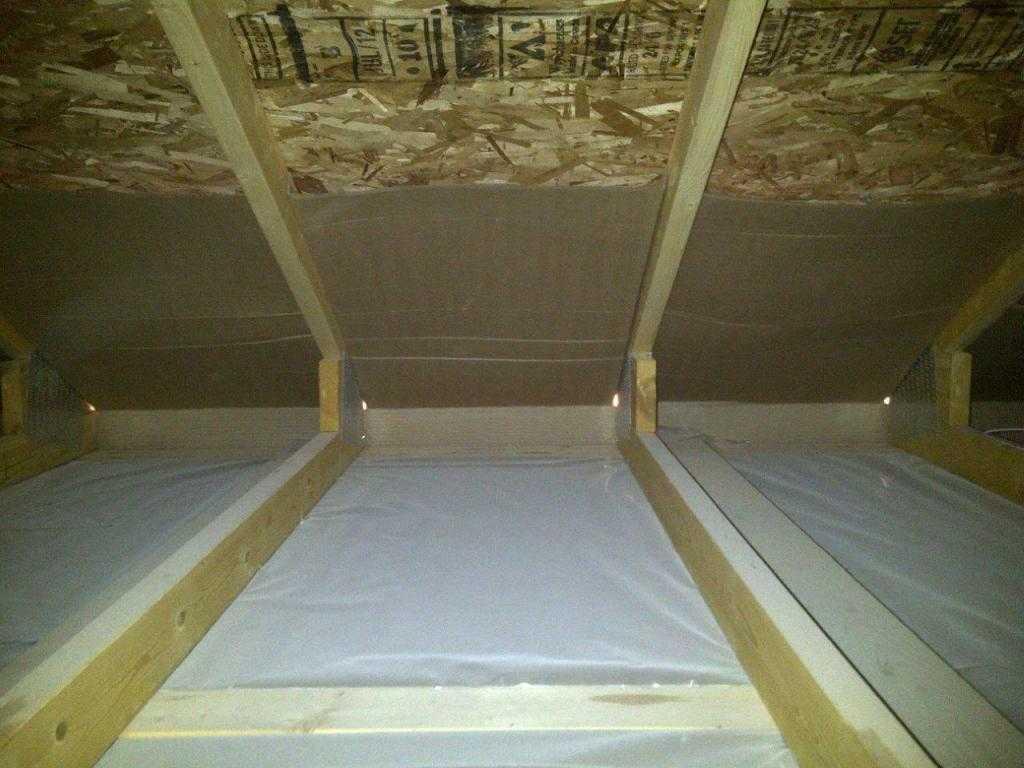 Пароизоляция для потолка в деревянном перекрытии и гидроизоляция в ванной
