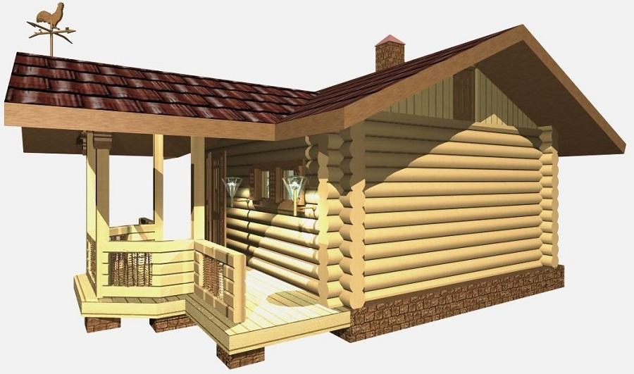 Мини-бани (95+ фото): обзор готовых современных проектов и все этапы постройки